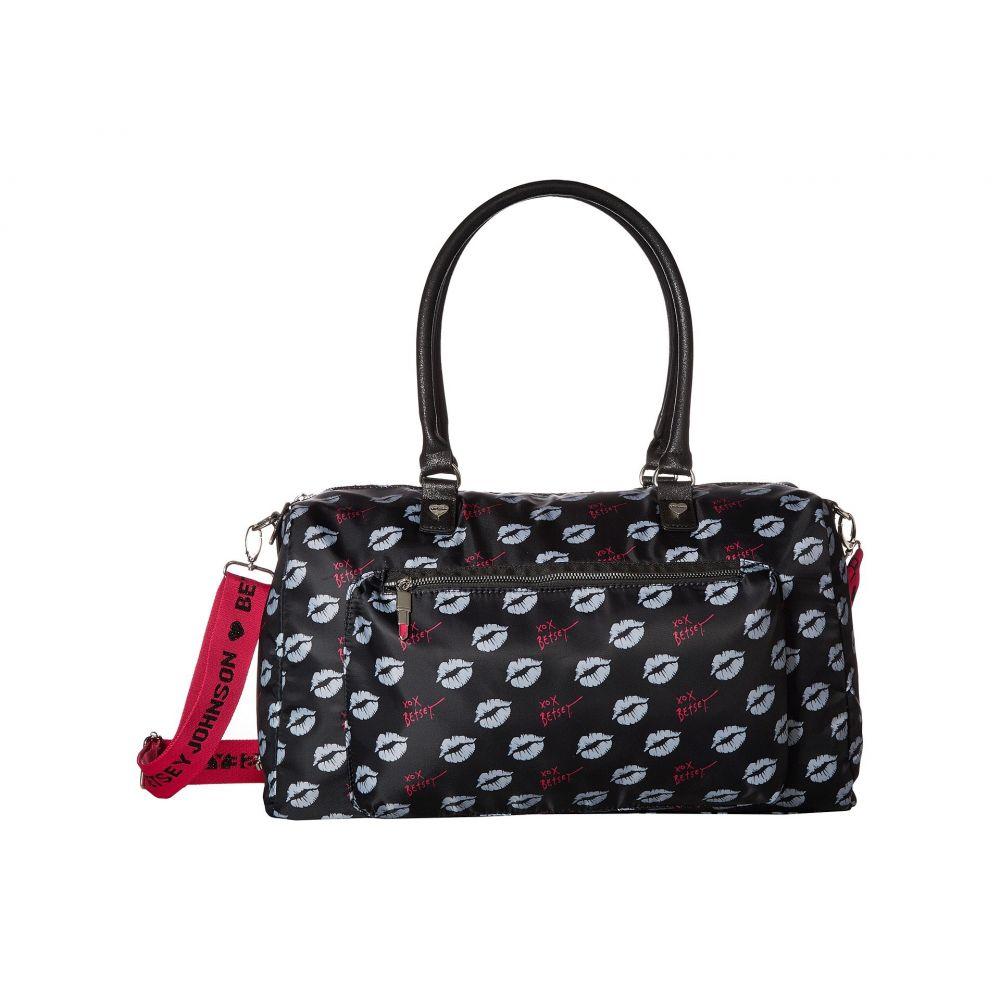 ベッツィ ジョンソン Betsey Johnson レディース バッグ ボストンバッグ・ダッフルバッグ【Sporty Weekender Bag】Black/Multi
