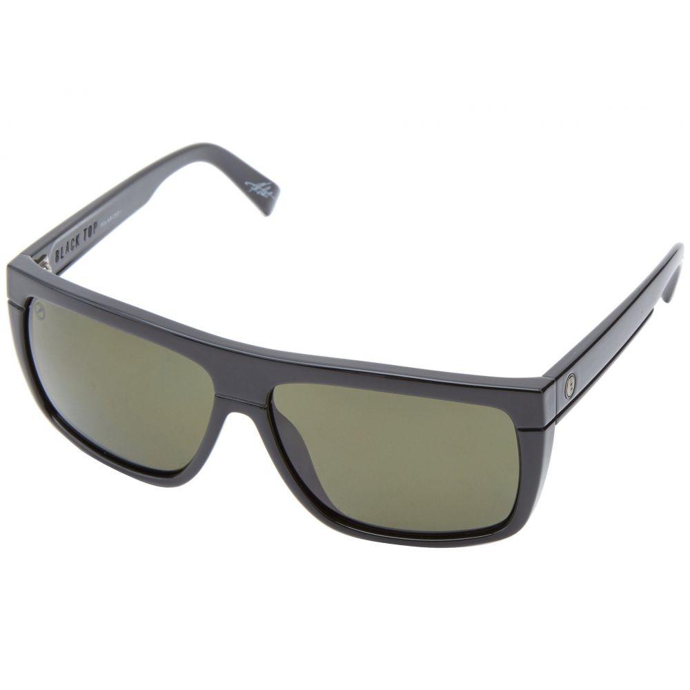 エレクトリック Electric Eyewear メンズ メガネ・サングラス【Black Top Polarized】Gloss Black/M1 Grey Polarized