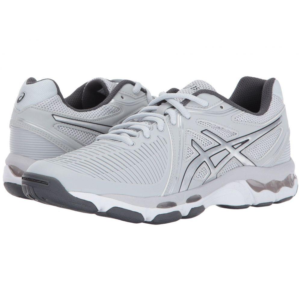 アシックス ASICS レディース バレーボール シューズ・靴【GEL-Netburner Ballistic】Glacier Grey/Silver/Dark Grey