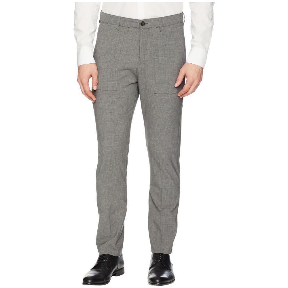 イレブンティ eleventy メンズ ボトムス・パンツ スラックス【Flat Front Wool Stretch Fatique Pants】Medium Grey