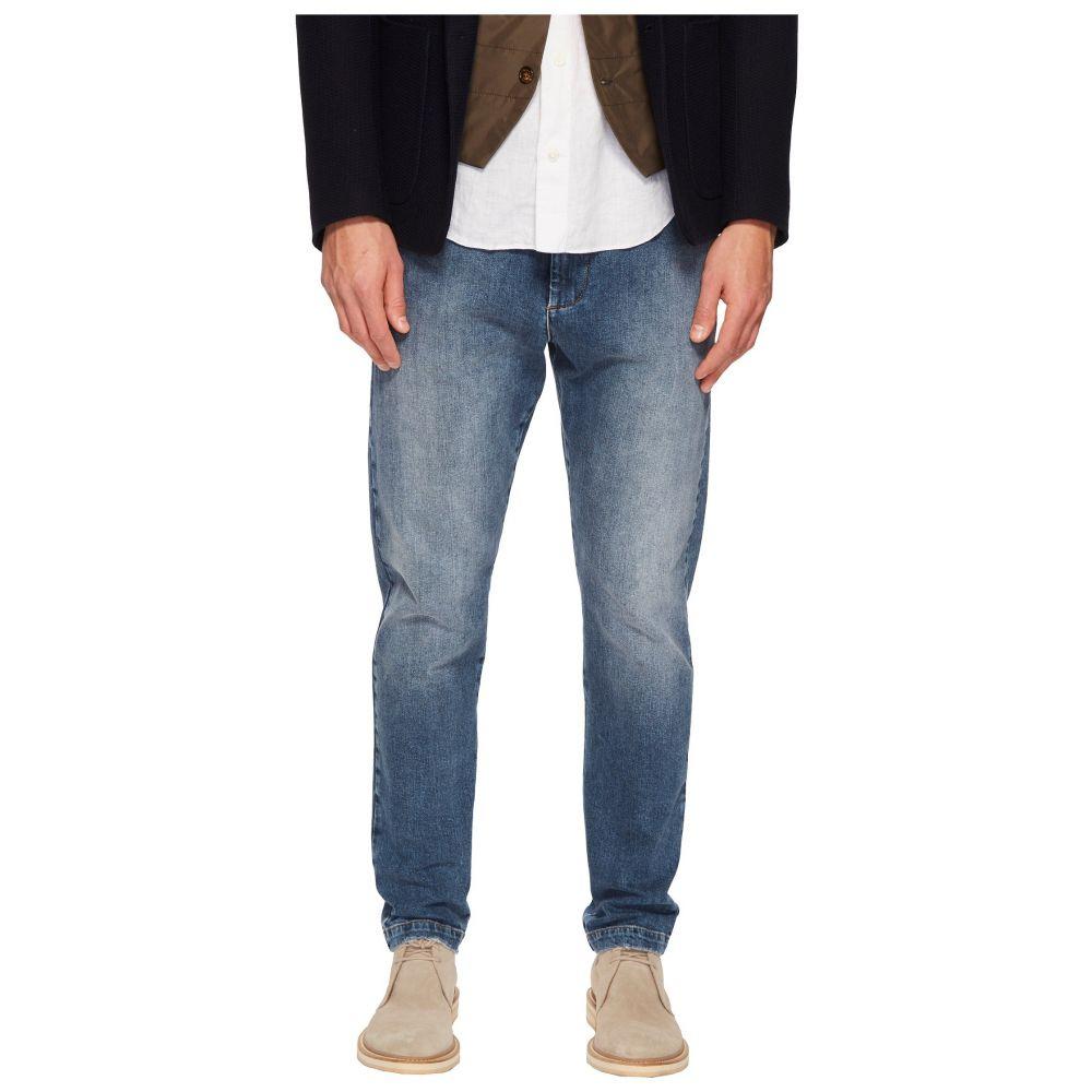 イレブンティ eleventy メンズ ボトムス・パンツ ジョガーパンツ【Cotton Stretch Jogger Jeans in Denim】Denim