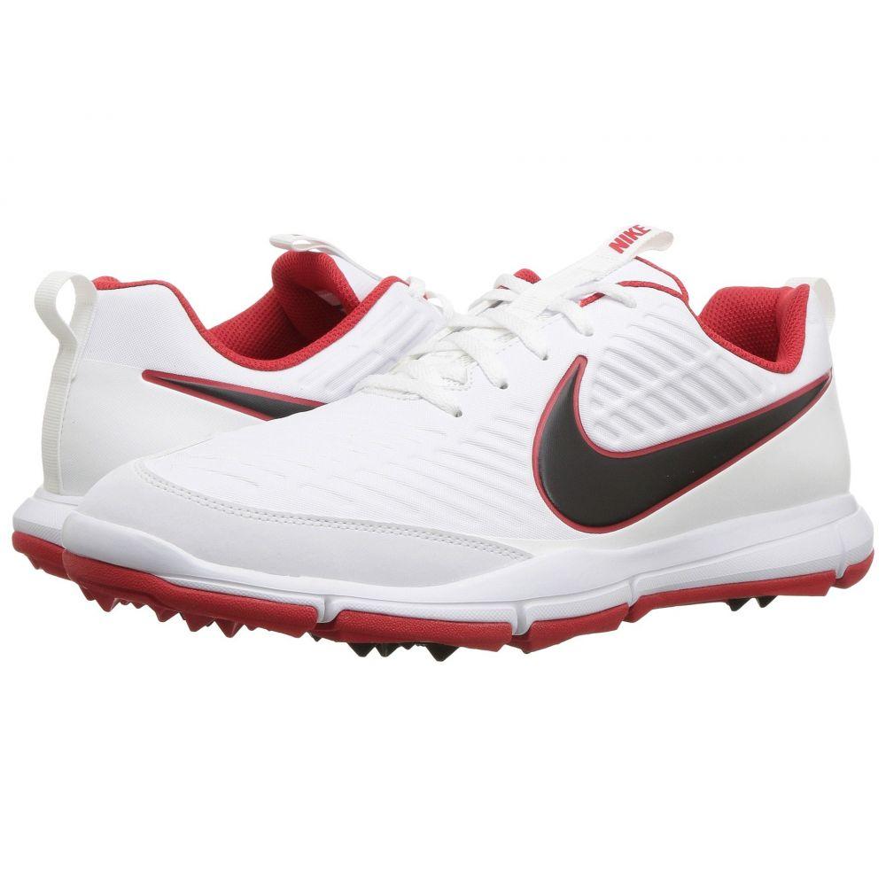 ナイキ Nike Golf メンズ ゴルフ シューズ・靴【Explorer 2】White/Black/University Red
