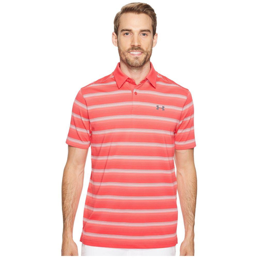 アンダーアーマー Under Armour Golf メンズ ゴルフ トップス【Coolswitch Bermuda Stripe】Hollywood/Rhino Gray