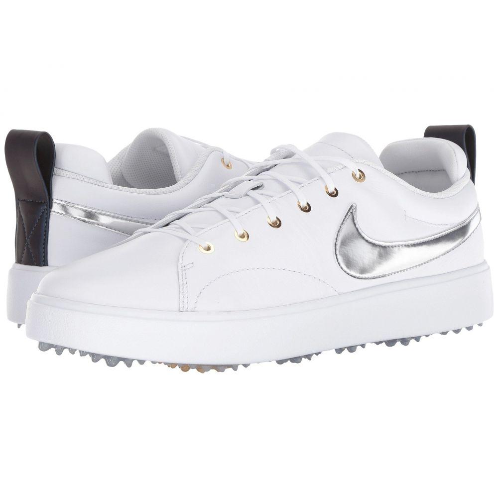 ナイキ Nike Golf メンズ ゴルフ シューズ・靴【Course Classic】White/Metallic Silver/Metallic Gold