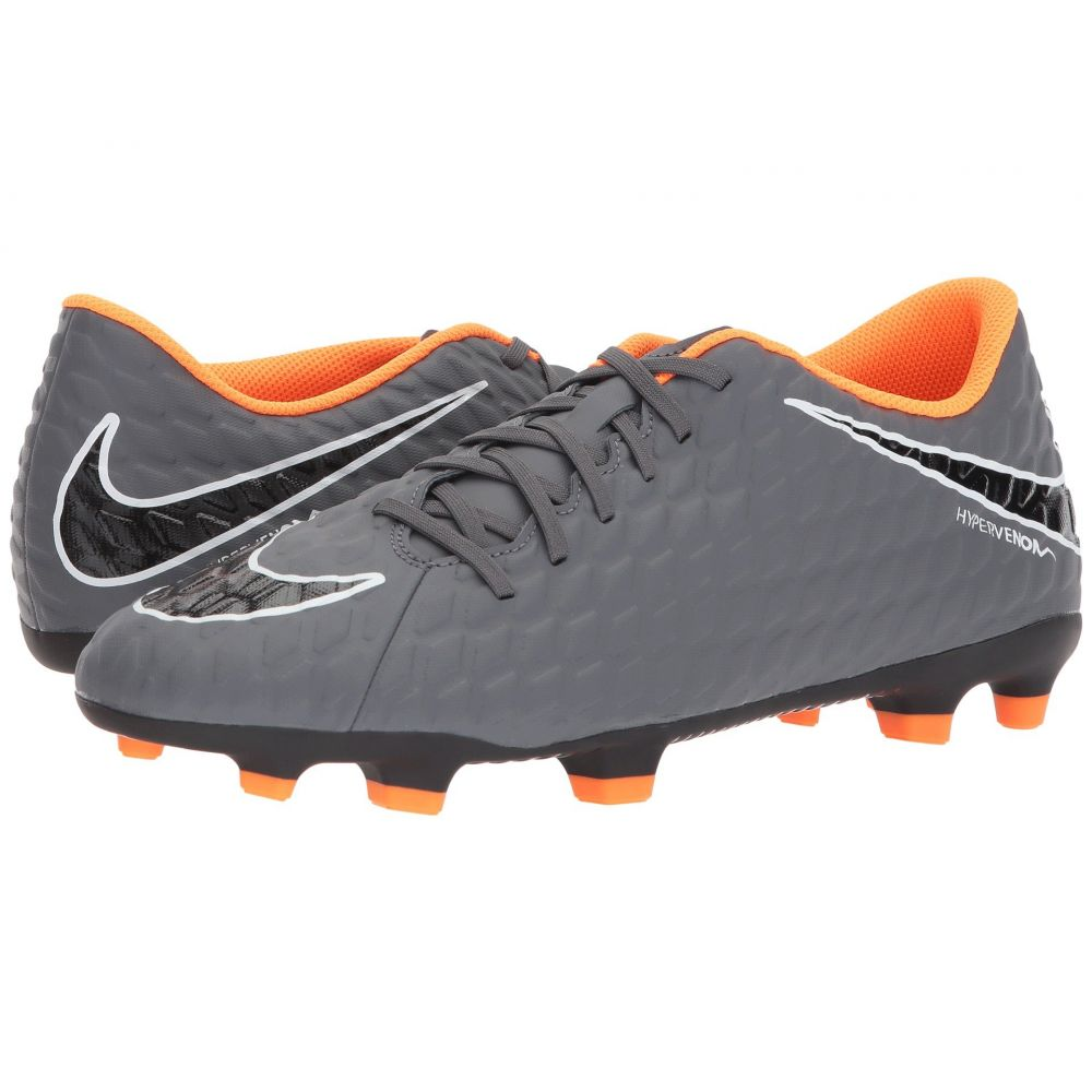 ナイキ Nike メンズ サッカー シューズ・靴【Hypervenom Phantom 3 Club FG】Dark Grey/Total Orange/White