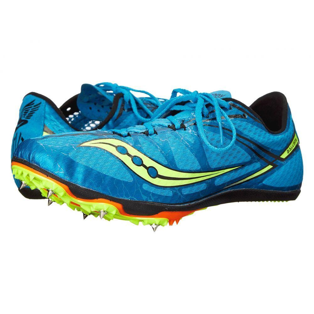サッカニー Saucony メンズ ランニング・ウォーキング シューズ・靴【Ballista】Blue/Citron
