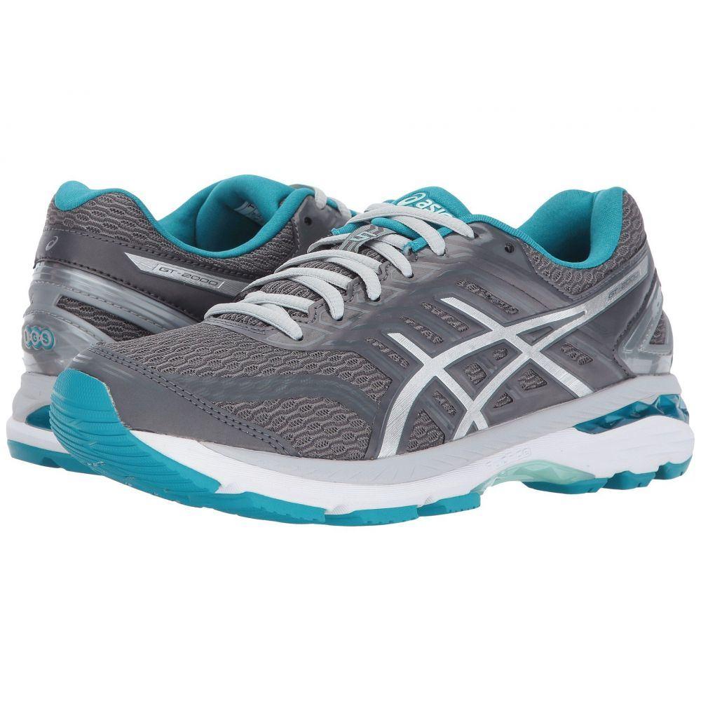 アシックス ASICS レディース ランニング・ウォーキング シューズ・靴【GT-2000 5】Carbon/Silver/Arctic Aqua