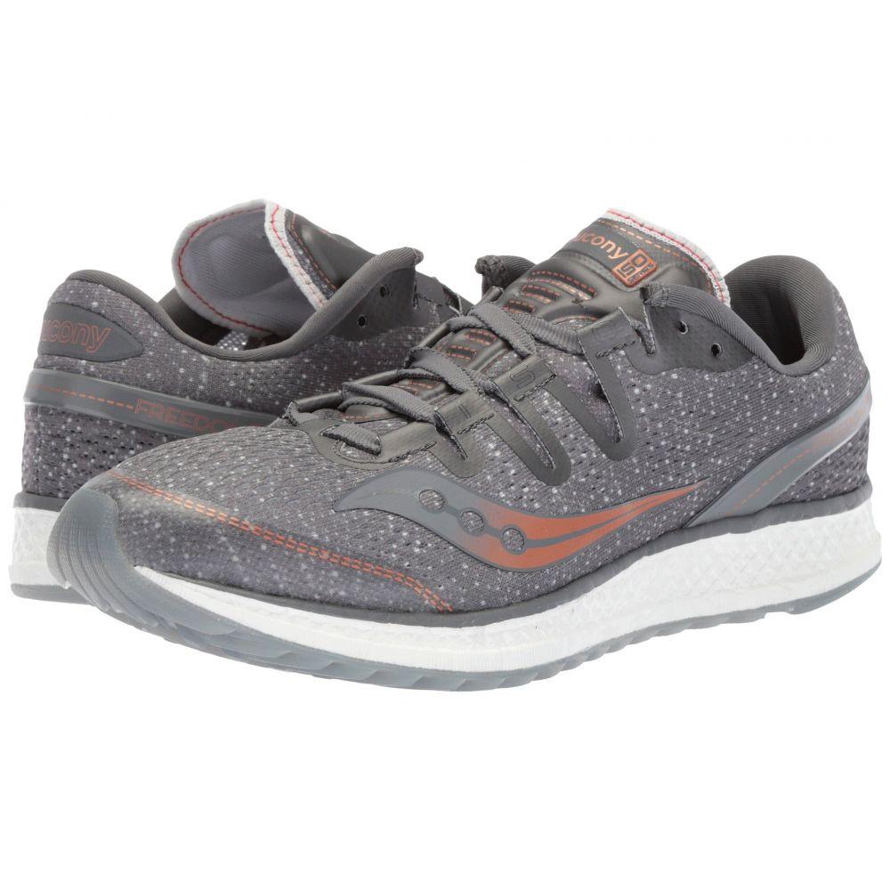 サッカニー Saucony レディース ランニング・ウォーキング シューズ・靴【Freedom ISO】Grey/Denim/Copper