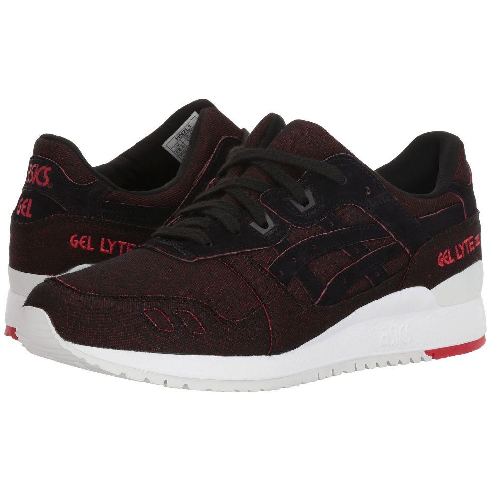 アシックス ASICS Tiger メンズ ランニング・ウォーキング シューズ・靴【Gel-Lyte III】Black/Black 6