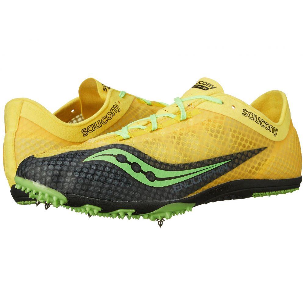 サッカニー Saucony メンズ ランニング・ウォーキング シューズ・靴【Endorphin】Yellow/Black/Slime