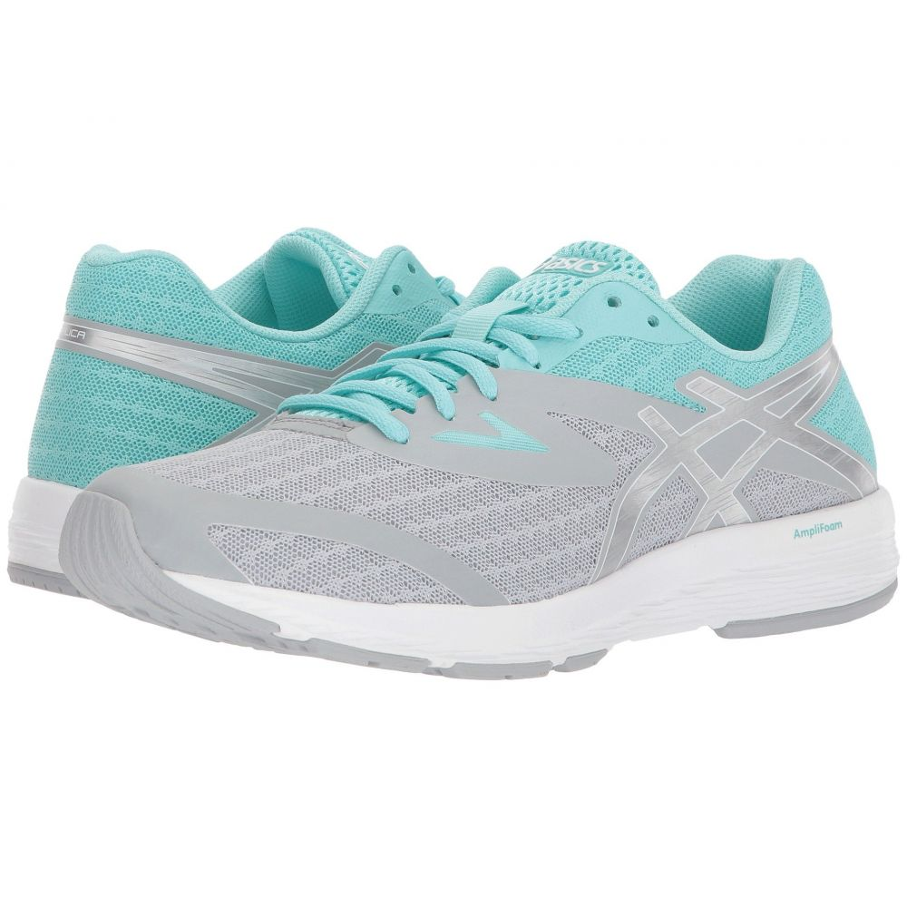 アシックス ASICS レディース ランニング・ウォーキング シューズ・靴【Amplica】Mid Grey/Silver/Aruba Blue