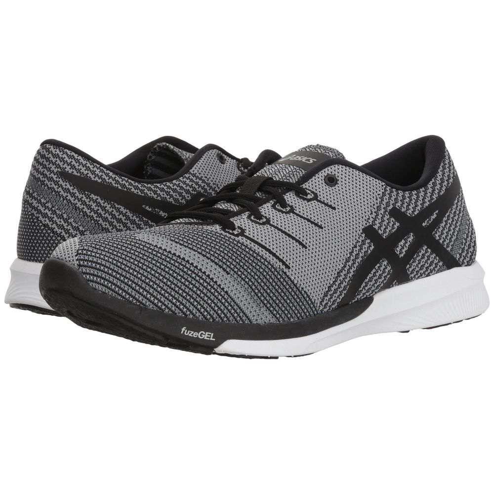 アシックス ASICS メンズ ランニング・ウォーキング シューズ・靴【fuzeX Knit】Carbon/Black/White