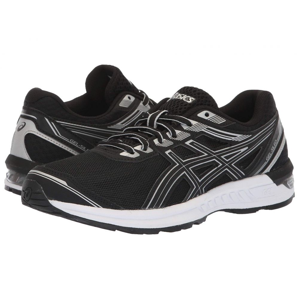 アシックス ASICS レディース ランニング・ウォーキング シューズ・靴【Gel-Sileo】Black/Silver