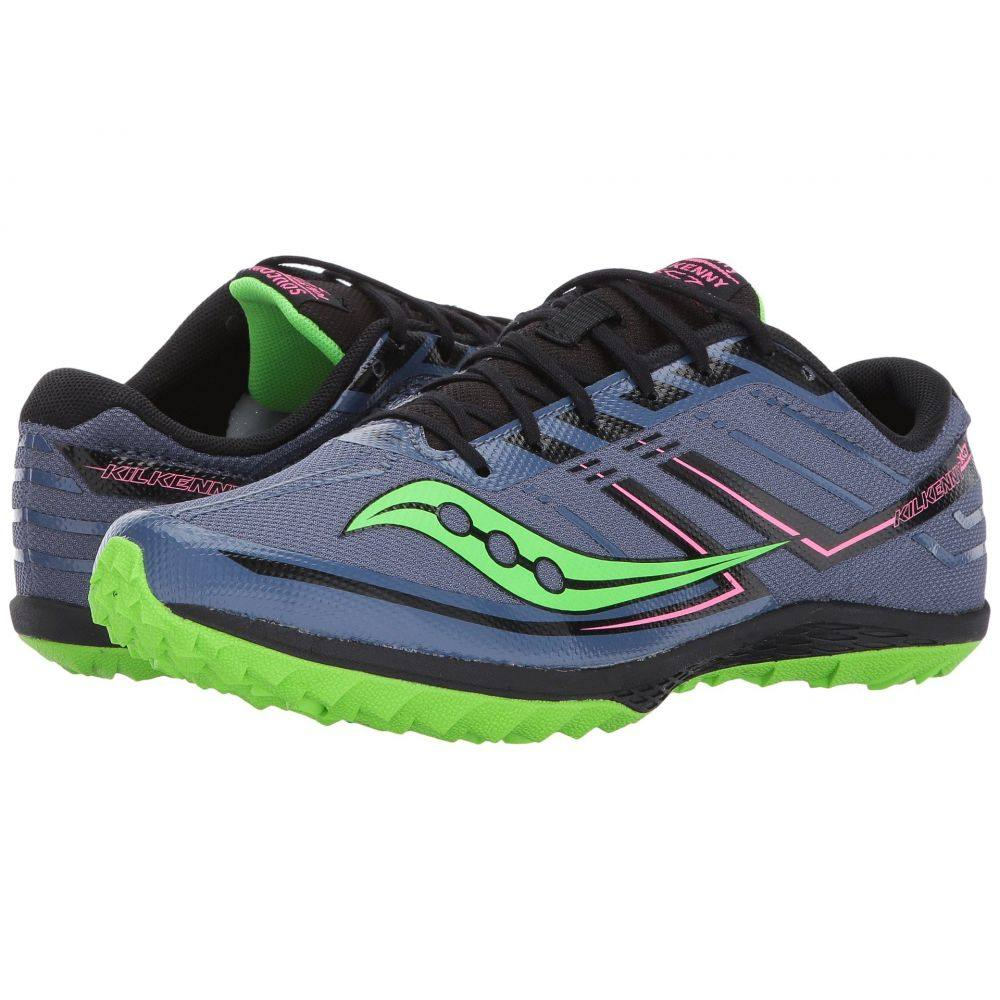 サッカニー Saucony レディース ランニング・ウォーキング シューズ・靴【Kilkenny XC7 Flat】Denim/Slime
