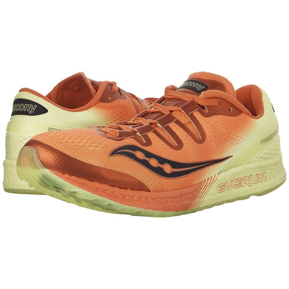 サッカニー Saucony メンズ ランニング・ウォーキング シューズ・靴【Freedom ISO】Orange/Citron