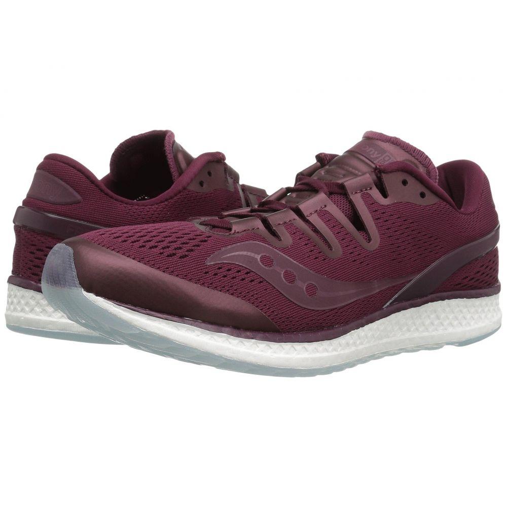 サッカニー Saucony メンズ ランニング・ウォーキング シューズ・靴【Freedom ISO】Burgundy