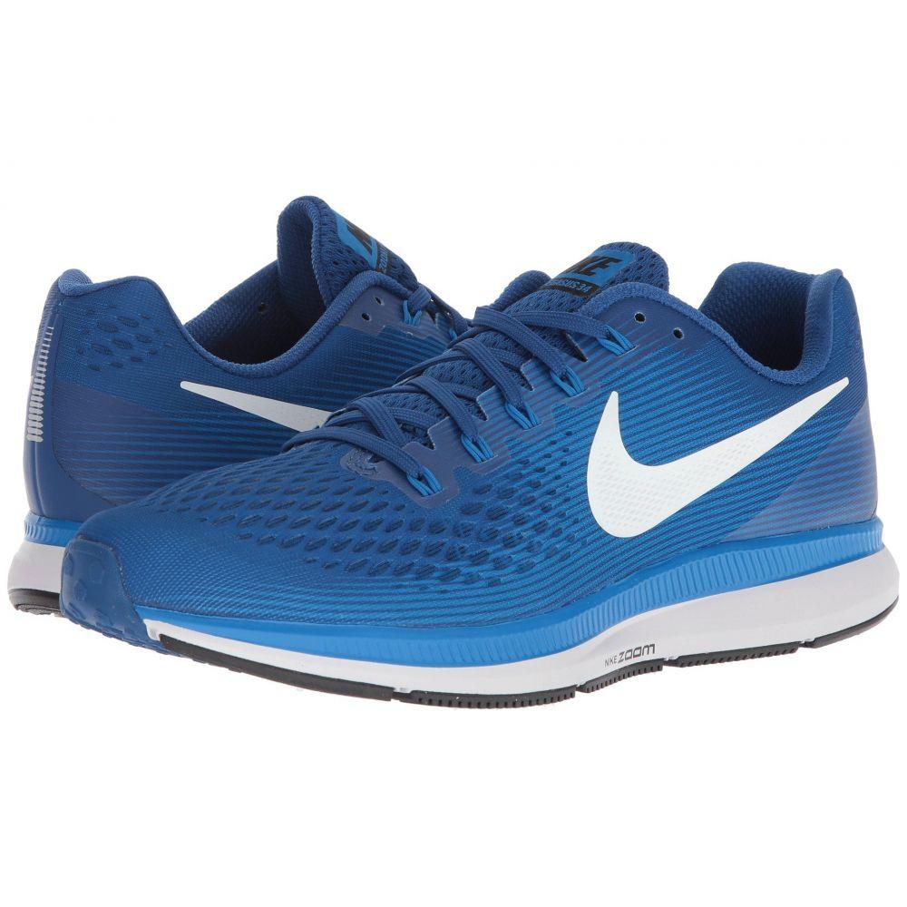 ナイキ Nike メンズ ランニング・ウォーキング シューズ・靴【Air Zoom Pegasus 34】Gym Blue/Sail/Blue Nebula/Vast Grey