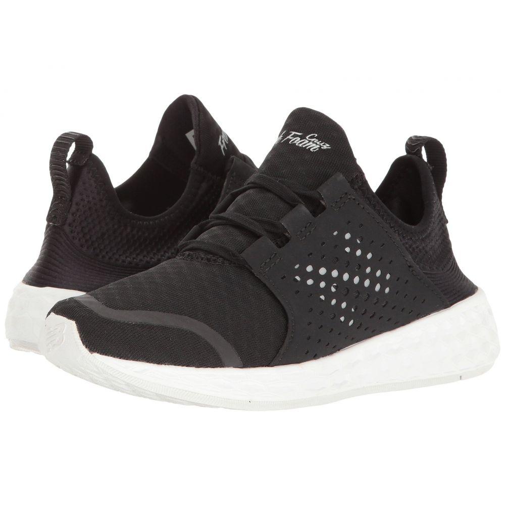 ニューバランス New Balance レディース ランニング・ウォーキング シューズ・靴【Fresh Foam Cruz v1】Black/White