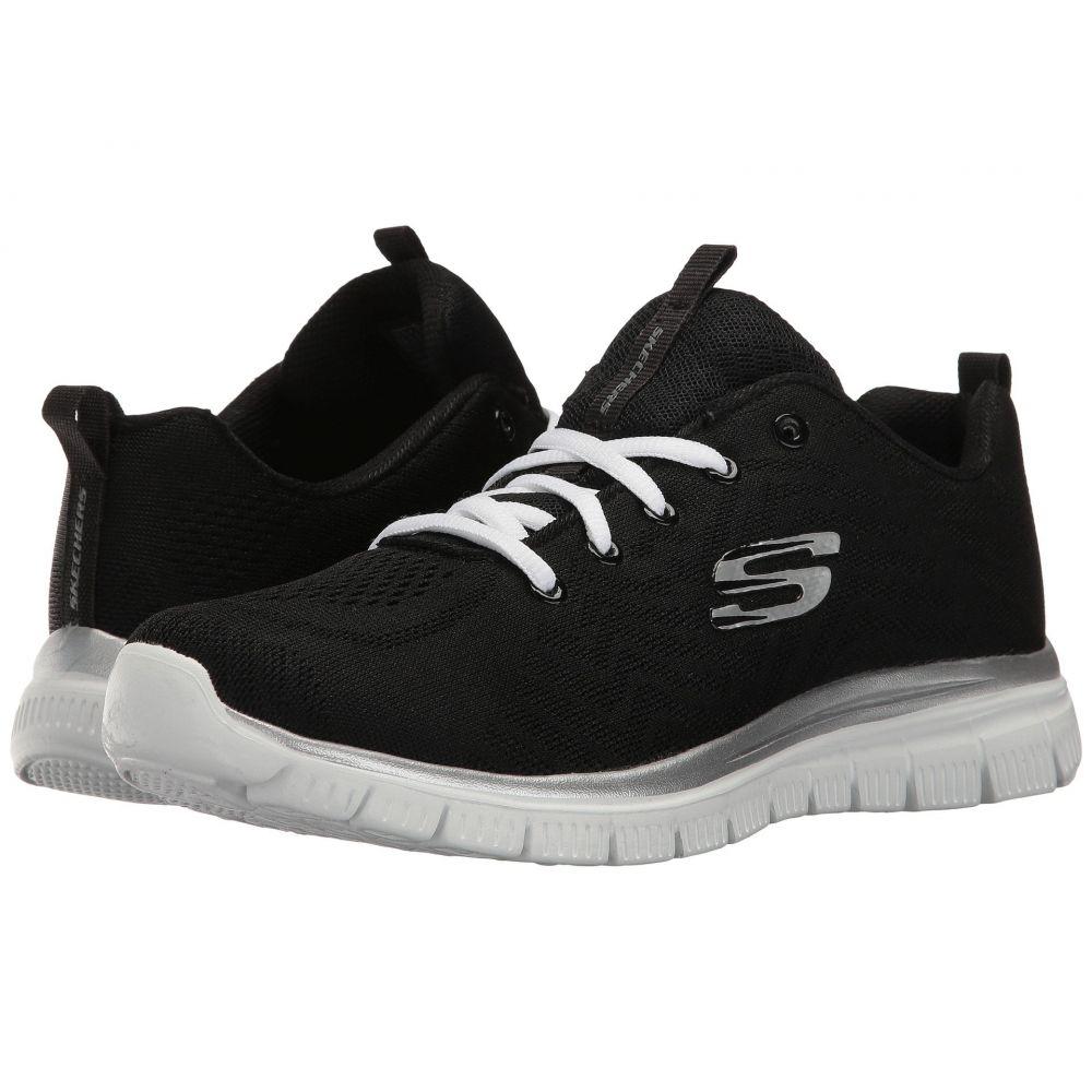 スケッチャーズ SKECHERS レディース ランニング・ウォーキング シューズ・靴【Graceful】Black/White