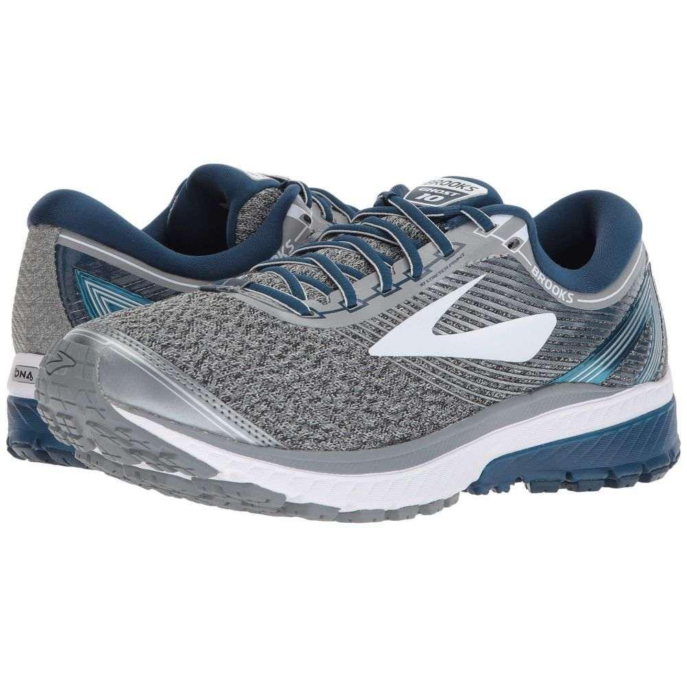 ブルックス Brooks メンズ ランニング・ウォーキング シューズ・靴【Ghost 10】Silver/Blue/White