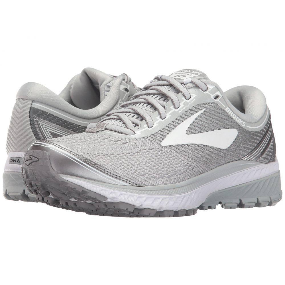 ブルックス Brooks レディース ランニング・ウォーキング シューズ・靴【Ghost 10】Microchip/White/Metallic Charcoal