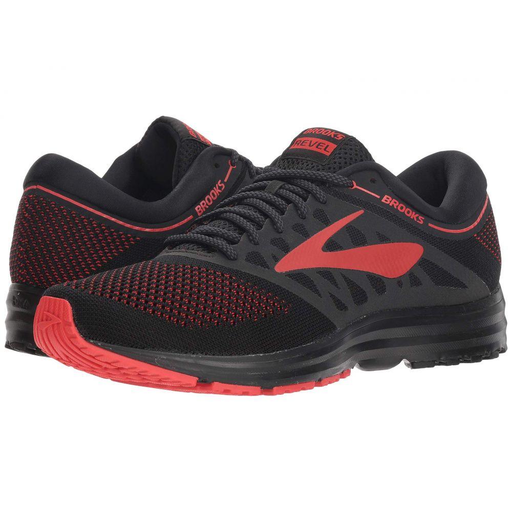 ブルックス Brooks メンズ ランニング・ウォーキング シューズ・靴【Revel】Black/Red/Grey