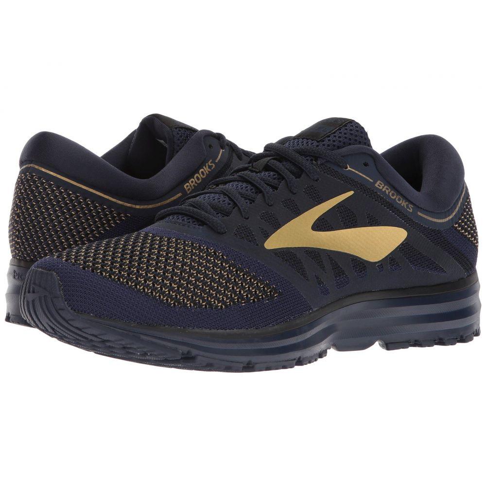 ブルックス Brooks メンズ ランニング・ウォーキング シューズ・靴【Revel】Navy/Gold/Black