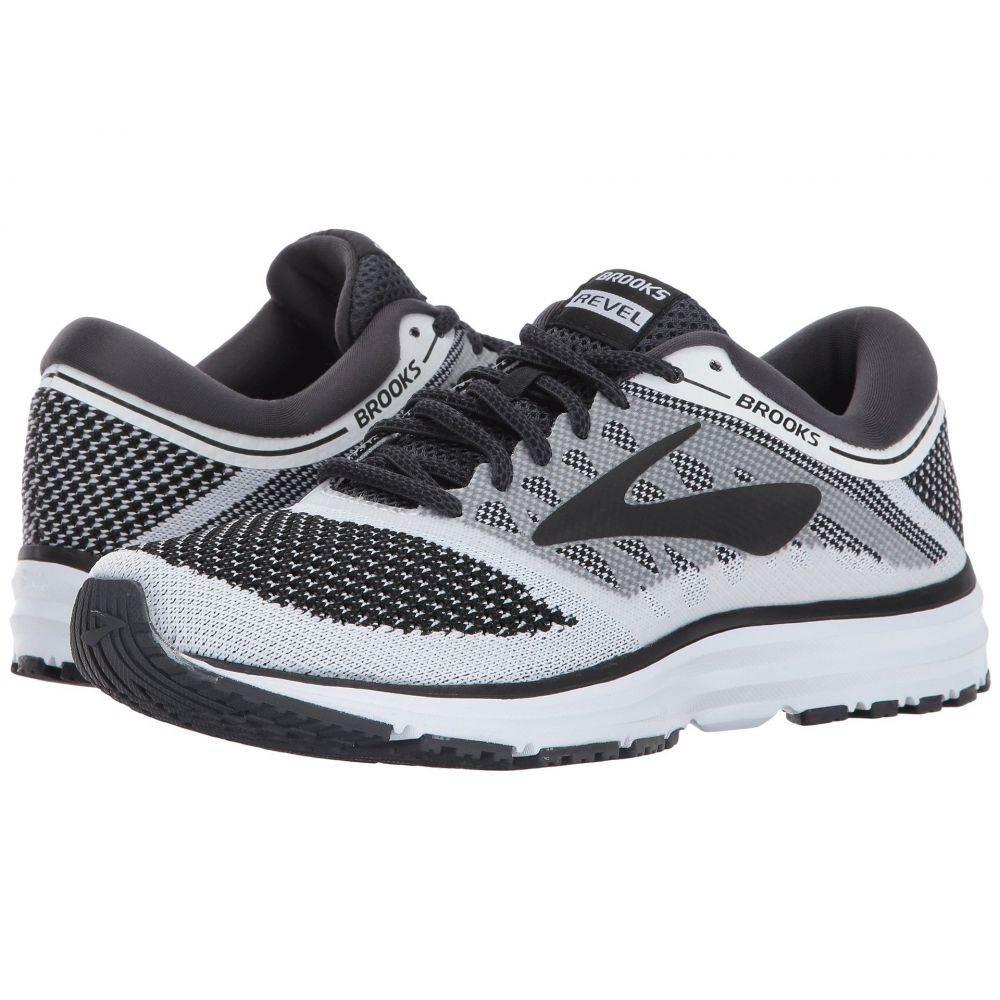 ブルックス Brooks レディース ランニング・ウォーキング シューズ・靴【Revel】White/Anthracite/Black