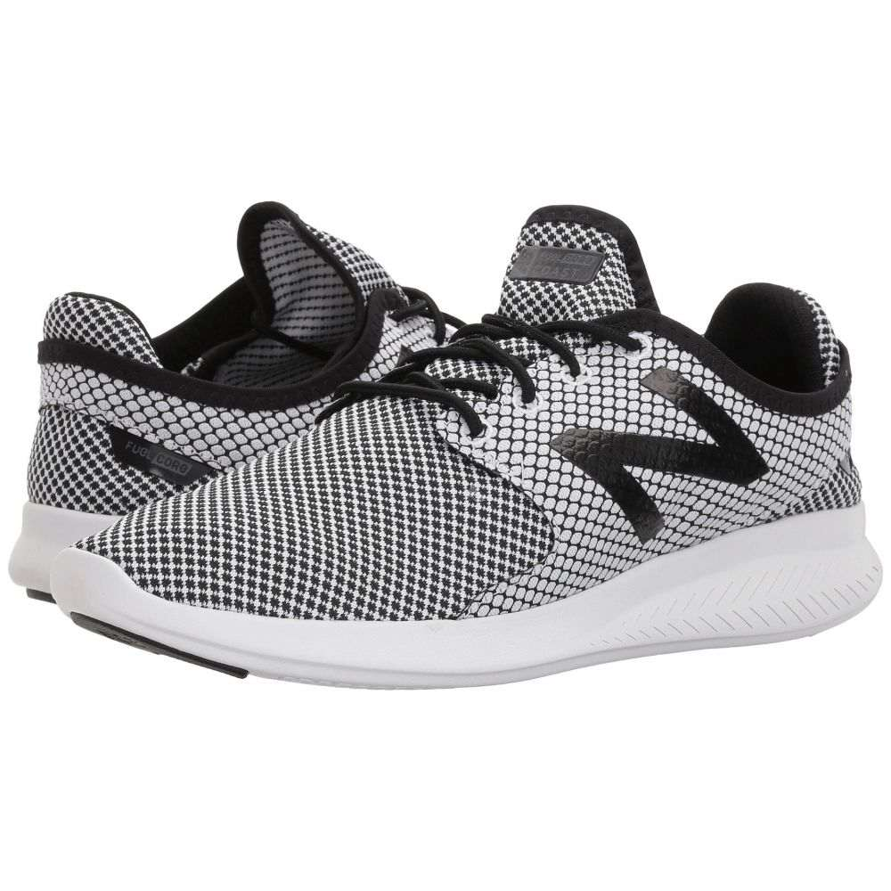 最適な価格 ニューバランス New New Balance メンズ ランニング・ウォーキング Balance シューズ 2・靴【Coast v3】White/Black 2, 市浦村:7994157b --- canoncity.azurewebsites.net