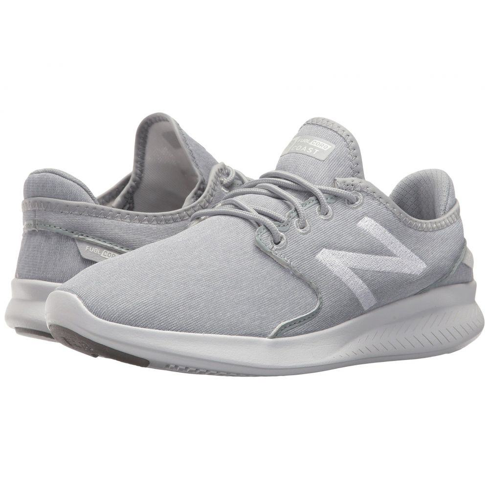 ニューバランス New Balance レディース ランニング・ウォーキング シューズ・靴【Coast v3】Silver Mink/Sea Salt/White