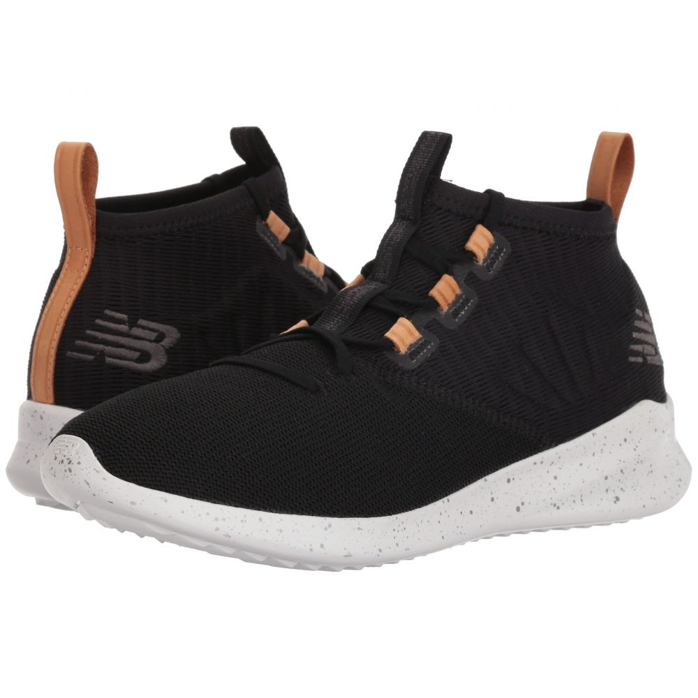 【海外 正規品】 ニューバランス メンズ New New Balance メンズ ランニング・ウォーキング シューズ Leather・靴【Cypher】Black/Veg Tan Leather, 松尾町:6c978711 --- canoncity.azurewebsites.net