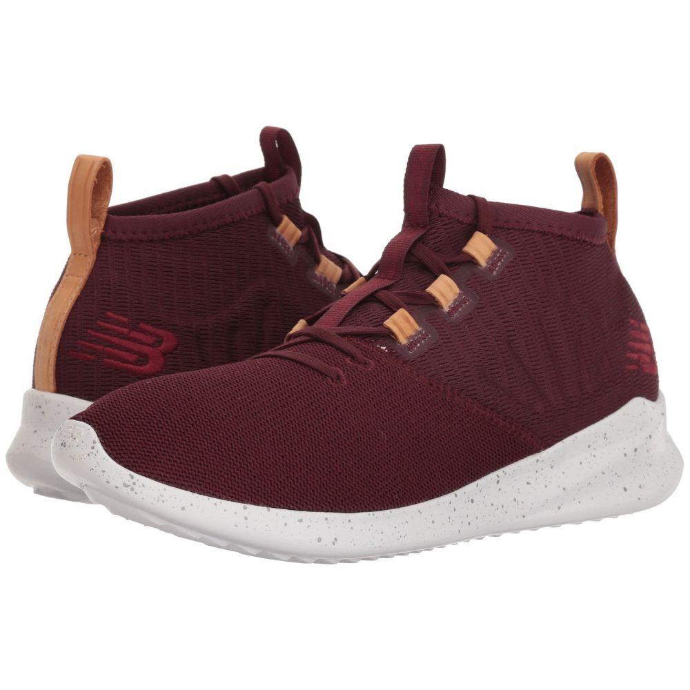 ニューバランス New Balance メンズ ランニング・ウォーキング シューズ・靴【Cypher】Burgundy/Veg Tan Leather