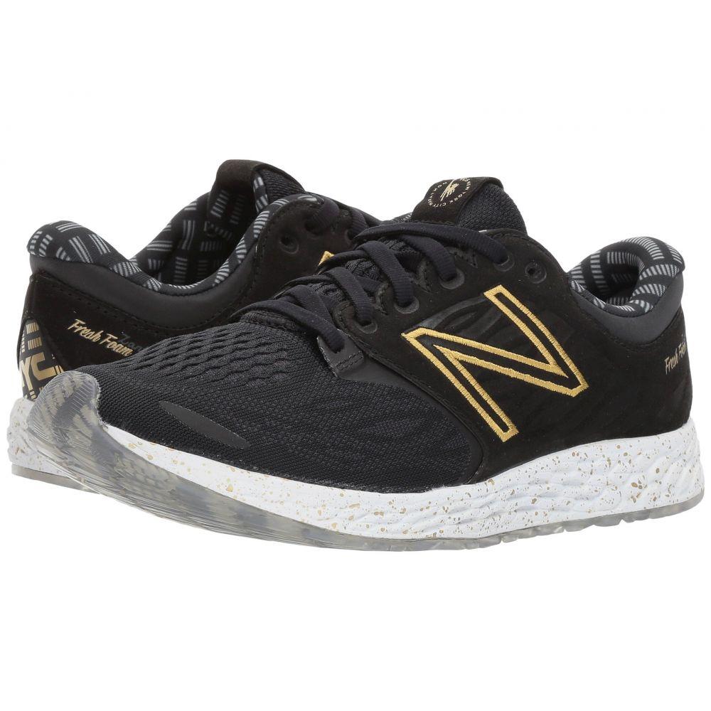 ニューバランス New Balance レディース ランニング・ウォーキング シューズ・靴【NYC Fresh Foam Zante v3】Black/Gold