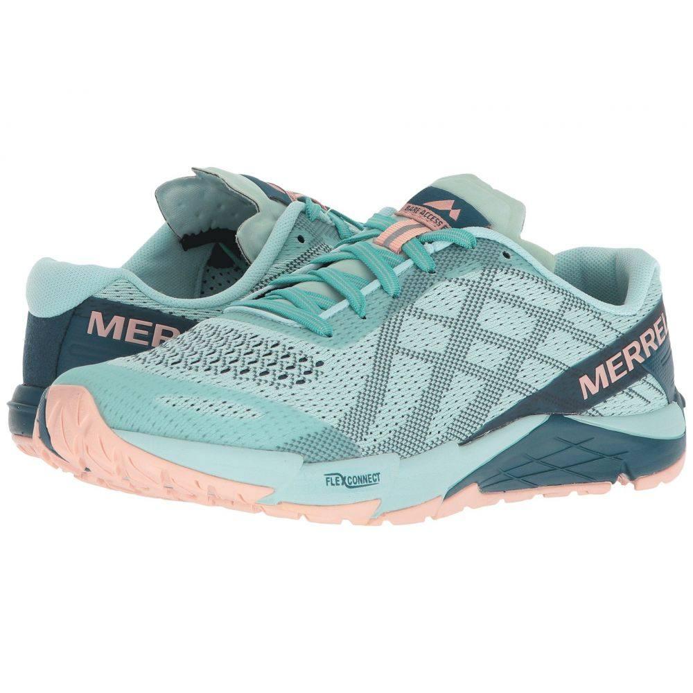メレル Merrell レディース ランニング・ウォーキング シューズ・靴【Bare Access Flex E-Mesh】Turquoise