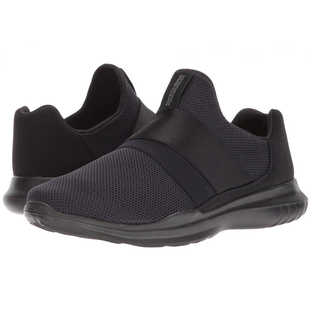 スケッチャーズ SKECHERS レディース ランニング・ウォーキング シューズ・靴【Go Run Mojo - Mania】Black