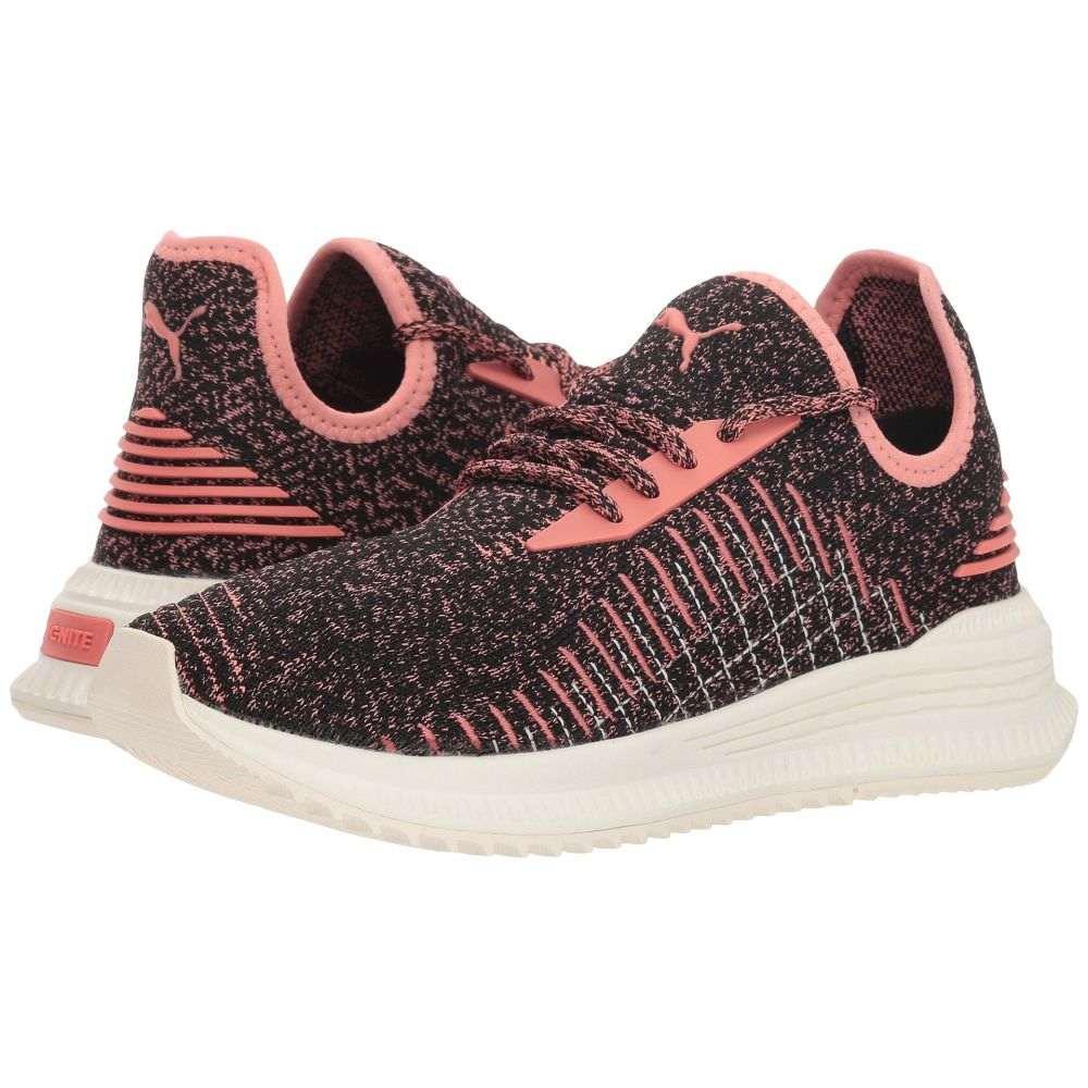 プーマ PUMA レディース ランニング・ウォーキング シューズ・靴【Avid evoKNIT】Puma Black/Shell Pink/Whisper White