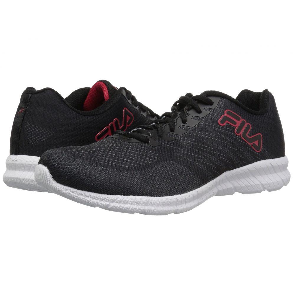 フィラ Fila メンズ ランニング・ウォーキング シューズ・靴【Windracer 3】Black/Fila Red/White
