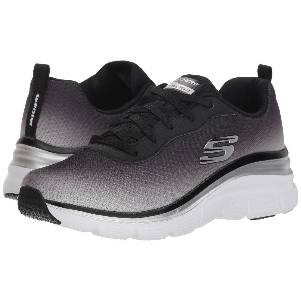 スケッチャーズ SKECHERS レディース ランニング・ウォーキング シューズ・靴【Fashion Fit - Build Up】Black/White