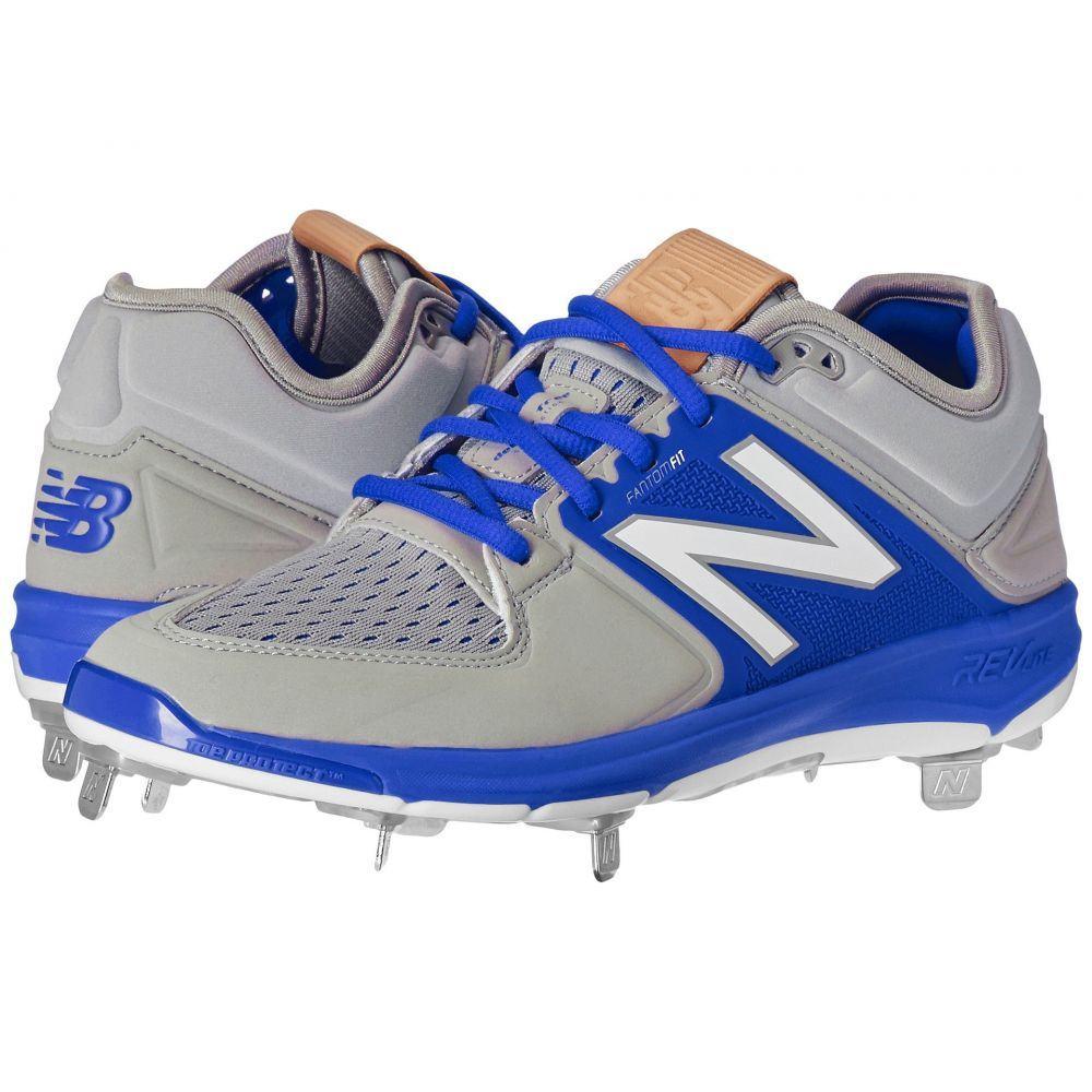 衝撃特価 ニューバランス New Balance Balance メンズ 野球 野球 シューズ・靴【L3000v3 メンズ】Grey/Blue, 京のみやび:1974c553 --- canoncity.azurewebsites.net