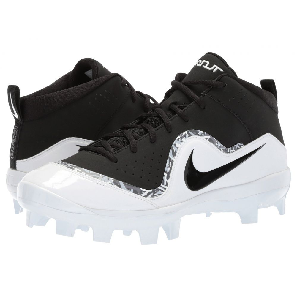 ナイキ Nike メンズ 野球 シューズ・靴【Force Trout 4 Pro MCS】Black/Black/White/Cool Grey