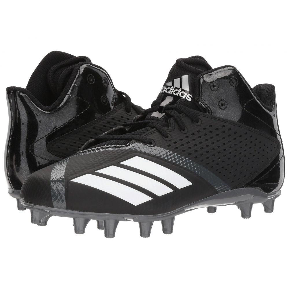 アディダス adidas メンズ アメリカンフットボール シューズ・靴【5-Star Mid Football】Core Black/Footwear White/Night Metallic F13