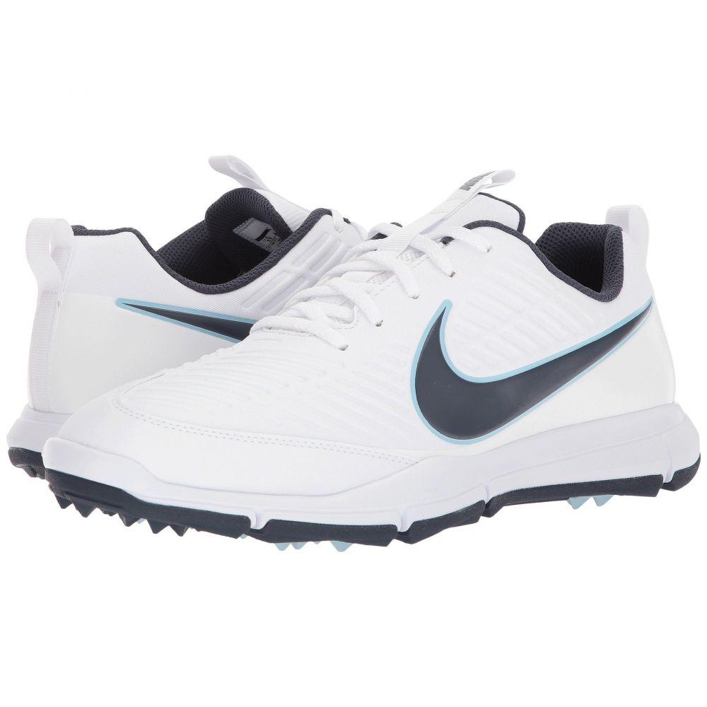 ナイキ Nike Golf メンズ ゴルフ シューズ・靴【Explorer 2】White/Thunder Blue/Ocean Bliss