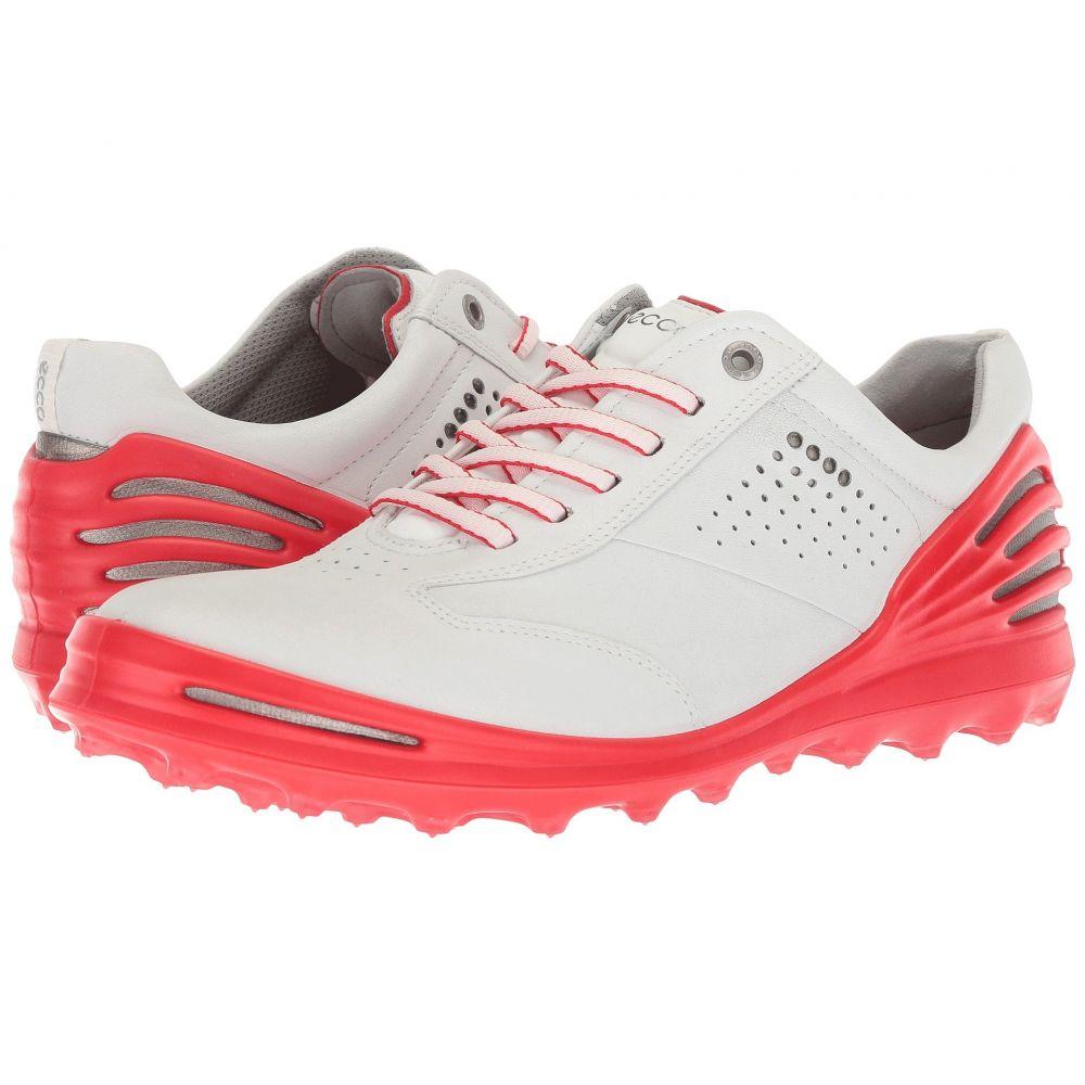 エコー ECCO Golf メンズ シューズ・靴【Cage Pro】White/Scarlet