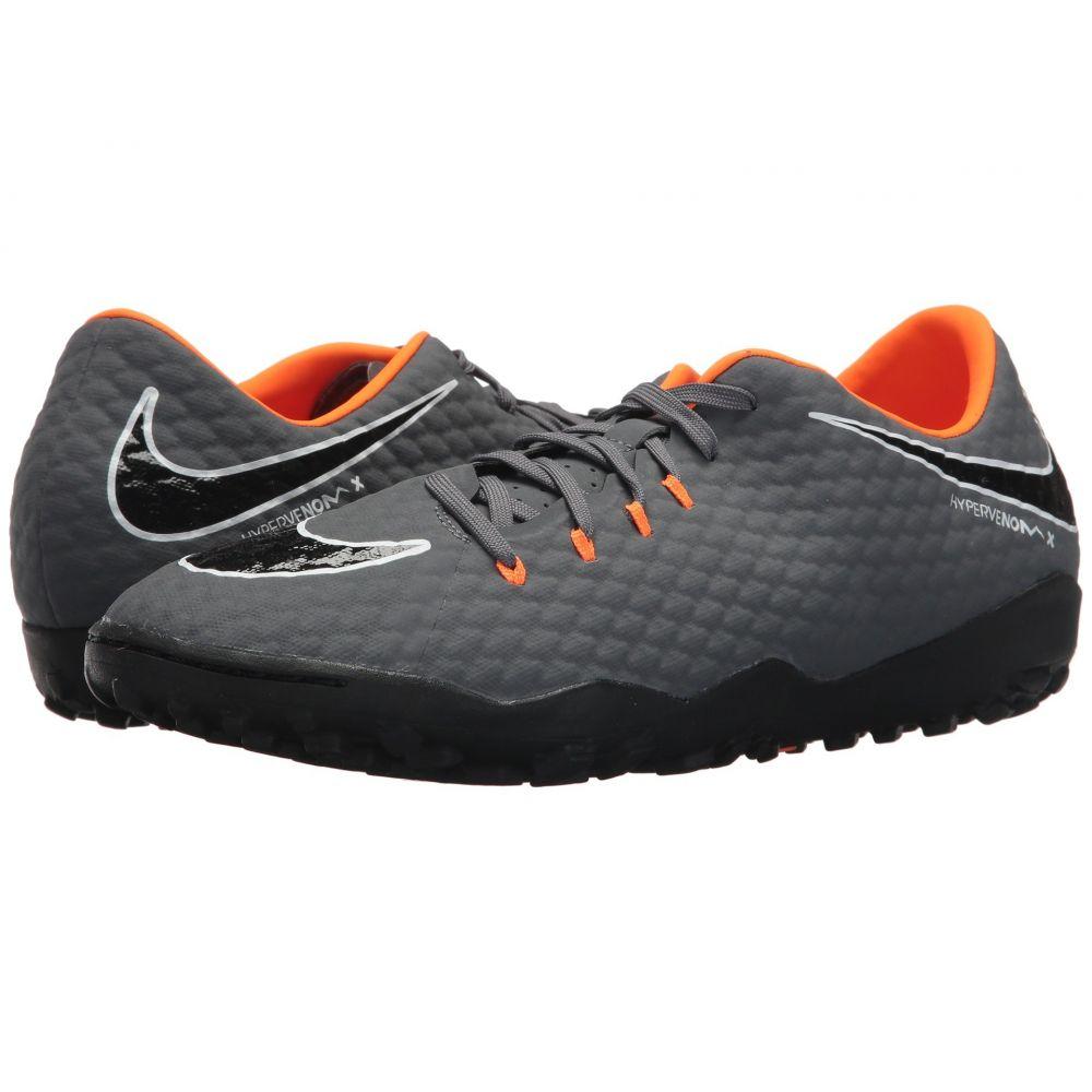 ナイキ Nike メンズ サッカー シューズ・靴【Hypervenom PhantomX 3 Academy TF】Dark Grey/Total Orange/White
