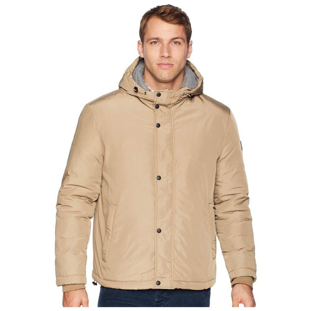コールハーン Cole Haan メンズ アウター レインコート【Oxford Rain Zip Front Jacket】Khaki