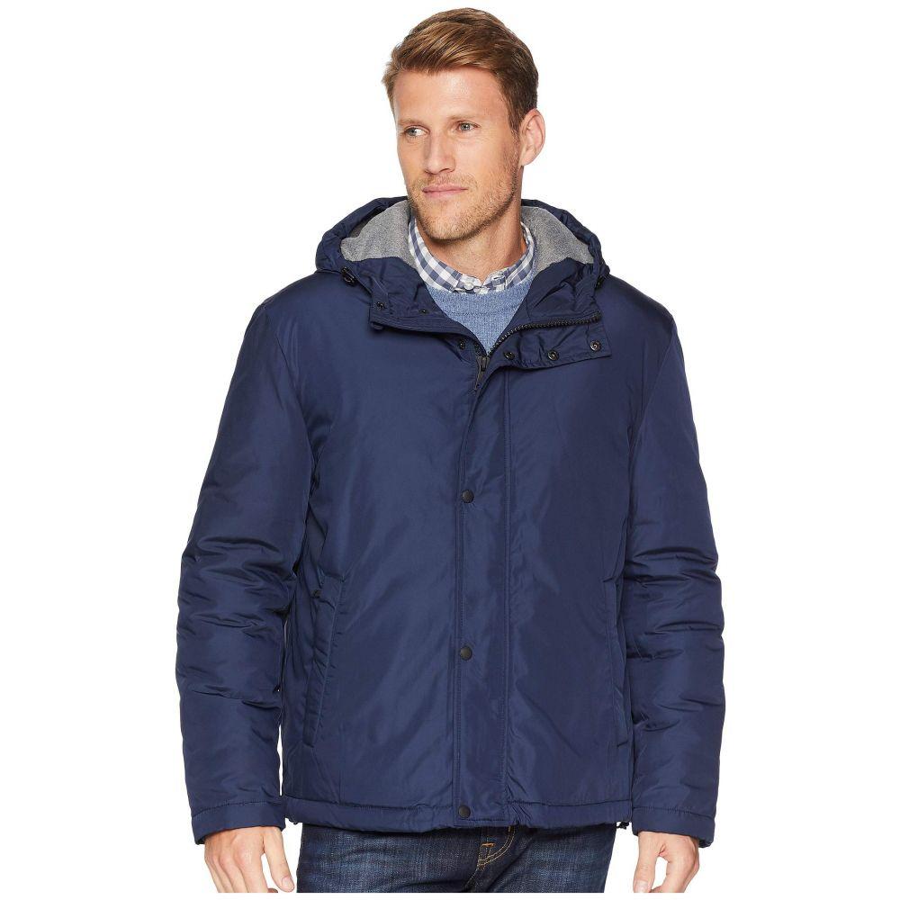 コールハーン Cole Haan メンズ アウター レインコート【Oxford Rain Zip Front Jacket】Navy