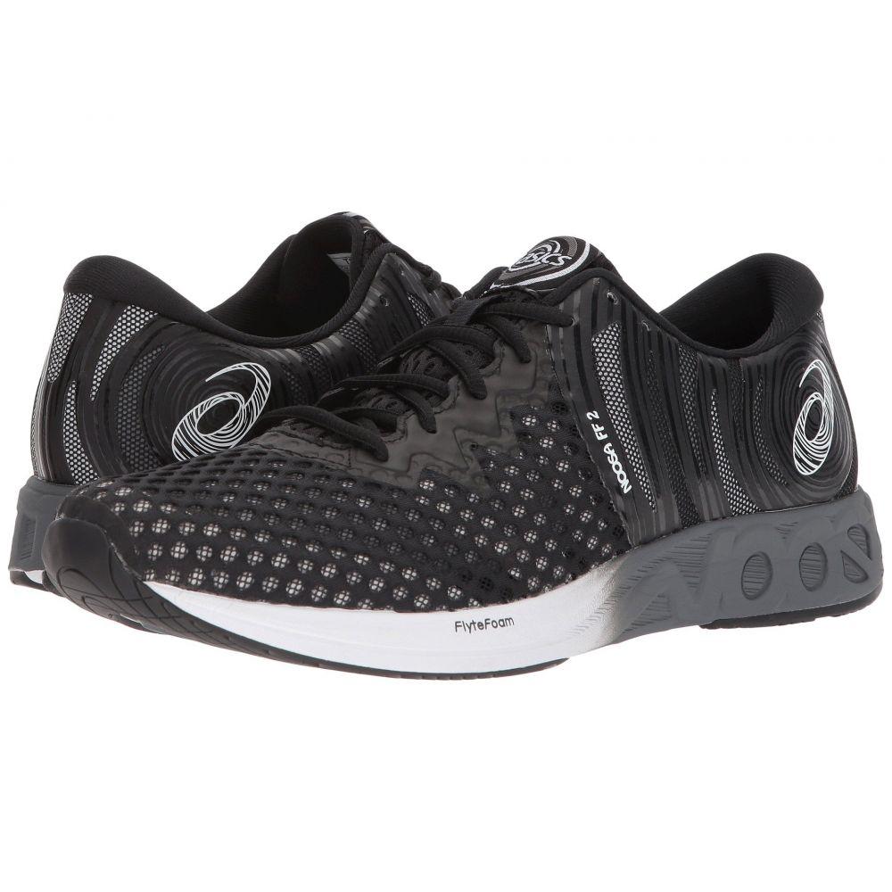 アシックス ASICS メンズ ランニング・ウォーキング シューズ・靴【Noosa FF 2】Black/White/Carbon