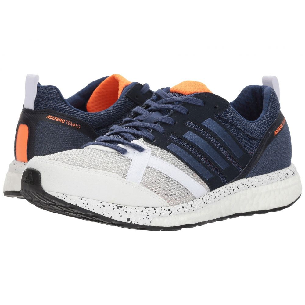 アディダス adidas Running メンズ ランニング・ウォーキング シューズ・靴【adiZero Tempo 9】Footwear White/Noble Indigo/Core Black