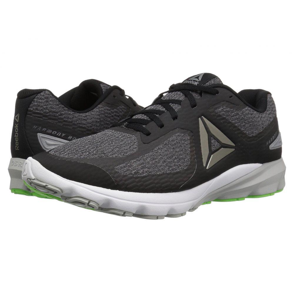 リーボック Reebok メンズ ランニング・ウォーキング シューズ・靴【Harmony Road 2】Black/Ash Grey/Skull Grey/Solar Green