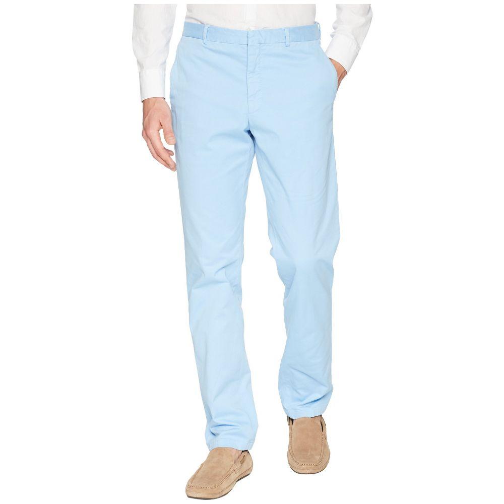 ラルフ ローレン Polo Ralph Lauren メンズ ボトムス・パンツ【Garment Dyed Cotton Stretch Trousers】Lagoon Blue